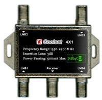 Coolsat Diseqc Switch 4 x 1